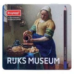 Bruynzeel vermeer mleczarka zestaw 24 kredek artystycznych