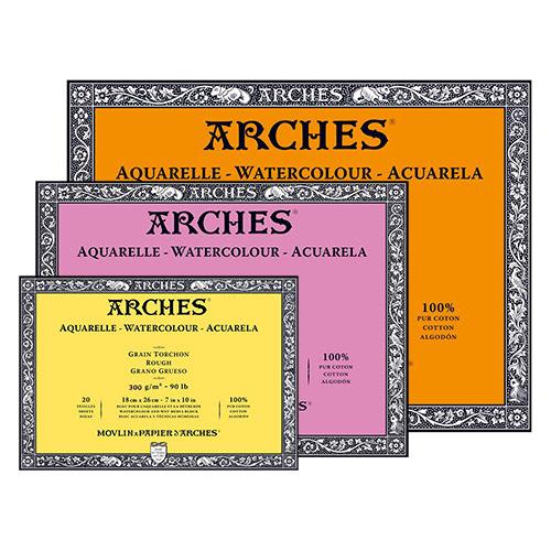 Blok Arches akwarelowy 300g 20ark