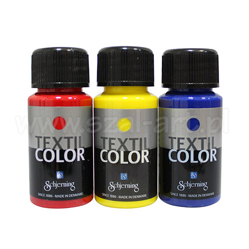 Schjerning textil color farby do tkanin jasnych 50ml