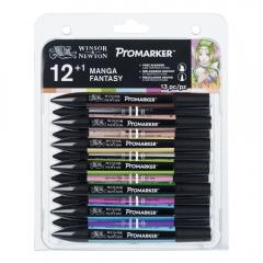Winsor&Newton promarker manga fantasy zestaw 13 kolorów 0290142
