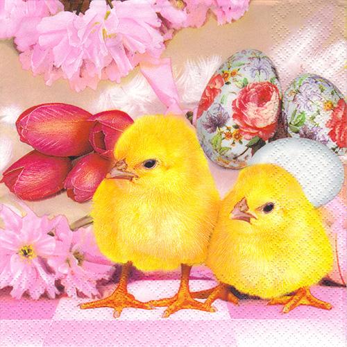 Serwetka do decoupage 32-SLWL 008501 Wielkanoc