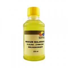 Szmal medium olejno - żywiczne wolnoschnące 250ml