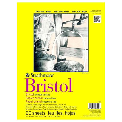 Blok Strathmore s.300 bristol smooth 270g 20ark
