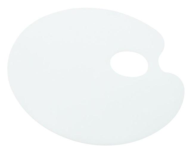 Paleta plastikowa gładka 22x17cm