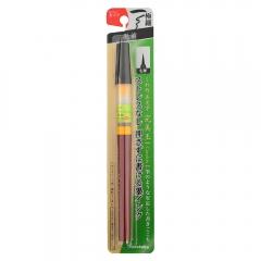Kuretake bimoji cambio brush pen fine czarny