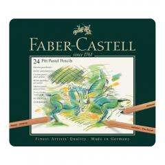 Faber-Castell pitt pastel zestaw 24 pasteli suchych w kredce