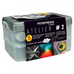 Pebeo mixed media atelier 2 zestaw farb + akcesoria