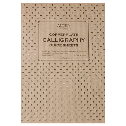 Blok Archies calligraphy copperplate 6-4-6 120g 50ark