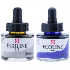 Talens ecoline farby wodne z pipetką 30 ml