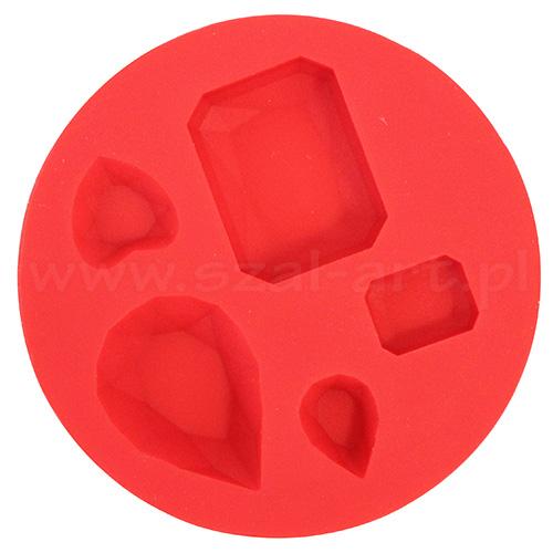 Fimo foremki silikonowe - klejnoty