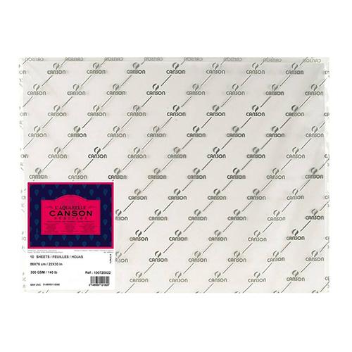 Canson ryza papieru akwarelowego heritage satin 56x76 300g 10ark