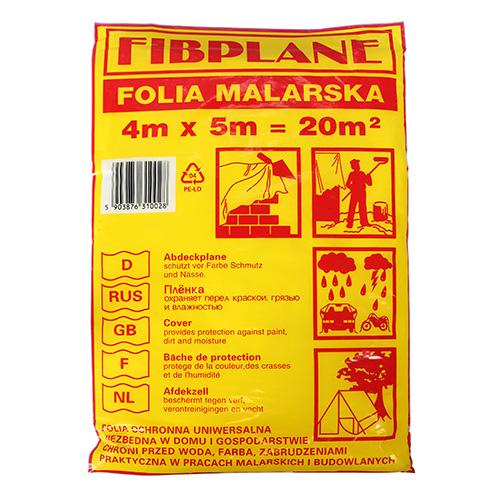 Folia malarska 4x5m