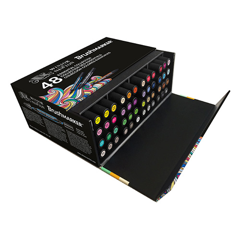 Winsor&Newton brushmarker essential collection zestaw 48 kolor