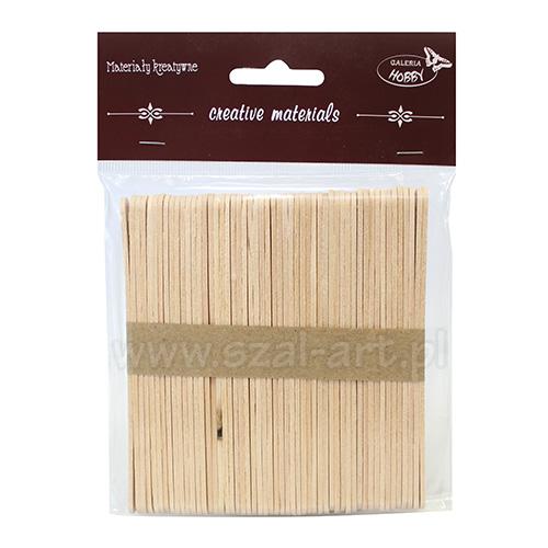 Patyczki drewniane 50 sztuk