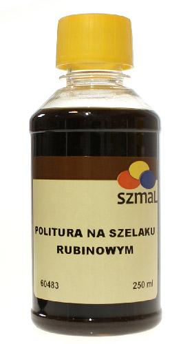 Szmal politura na szelaku rubinowym 250 ml