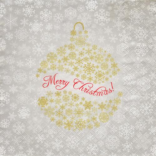 Serwetka do decoupage Daisy 24-007101 merry christmas