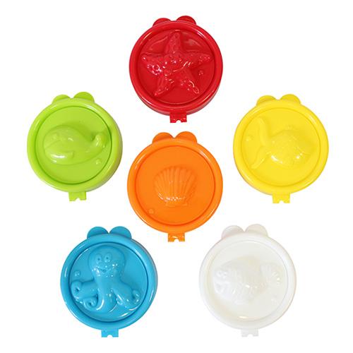 Fimo kids sea animals zestaw plastikowych foremek