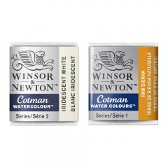 Winsor&Newton cotman akwarele w półkostkach