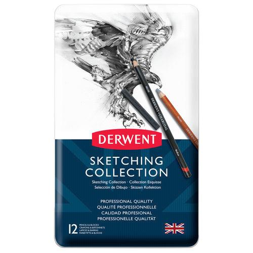 Derwent sketching collection zestaw 12 sztuk
