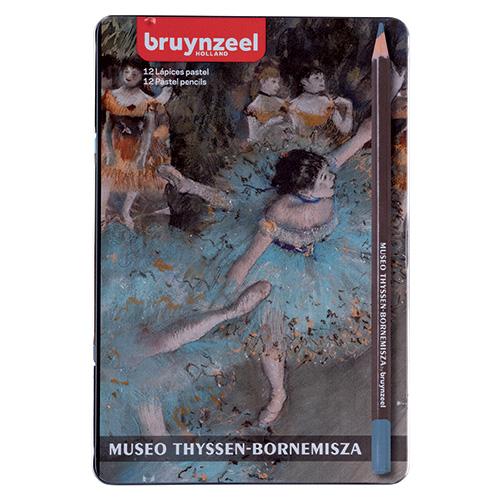 Bruynzeel museo thyssen-bornemisza 12 pasteli w kredce