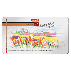 Bruynzeel expression colour zestaw 72 kredek