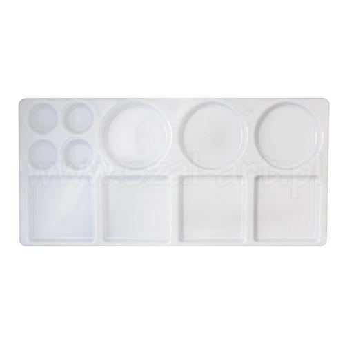 Paleta plastikowa prostokątna 15 x 32cm 11 komór