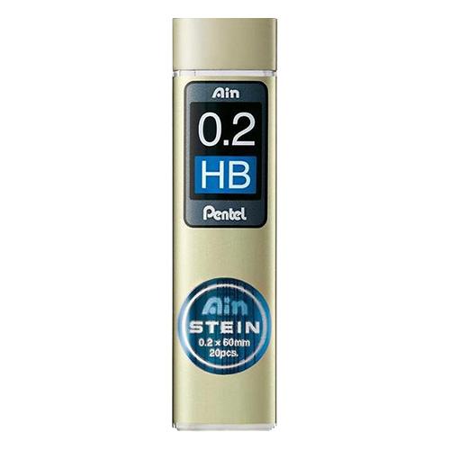 Pentel ain stein wkłady do ołówków automatycznych HB 0,2mm