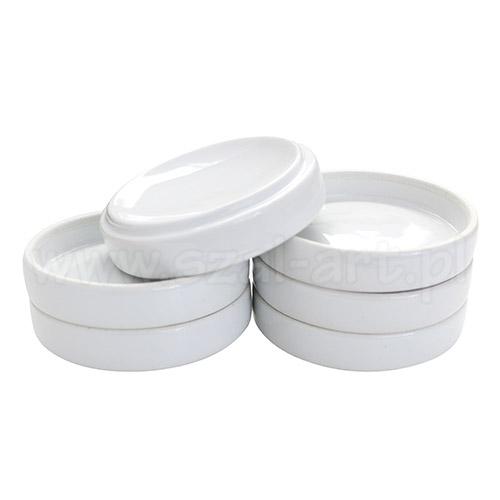 Zestaw 6 porcelanowych miseczek o średnicy 9cm