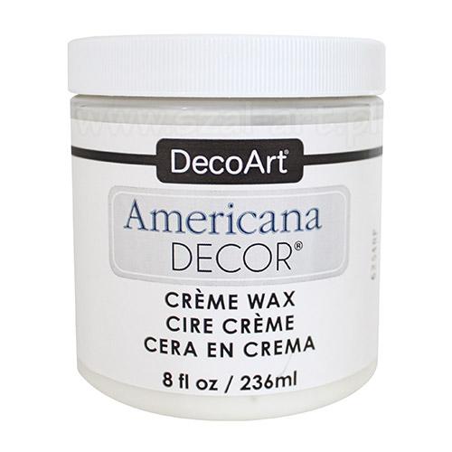 Americana decor creme wax bezbarwny wosk 236ml