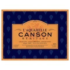 Blok Canson heritage akwarelowy drobnoziarnisty 640g 12ark