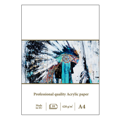 Blok SM-LT art acrylic do farb akrylowych A4 420g 10ark