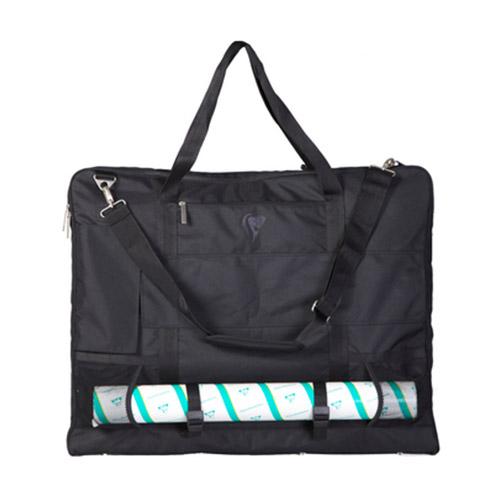 Clairefontaine płócienna torba-plecak portfolio czarna 60 x 70cm