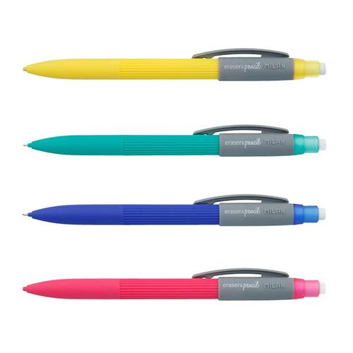 Milan ołówek mechaniczny z gumką PL1 touch HB 0.7