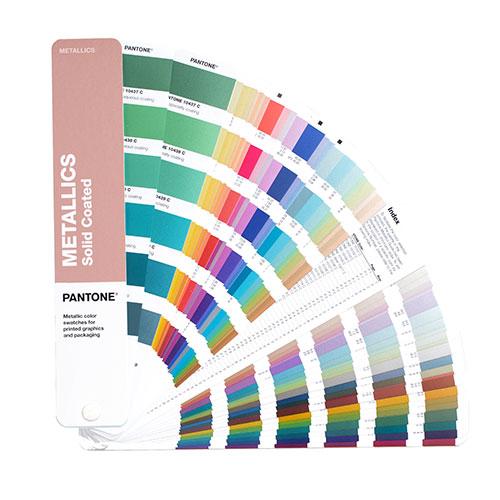 Pantone metallics guide wzorniki kolorów