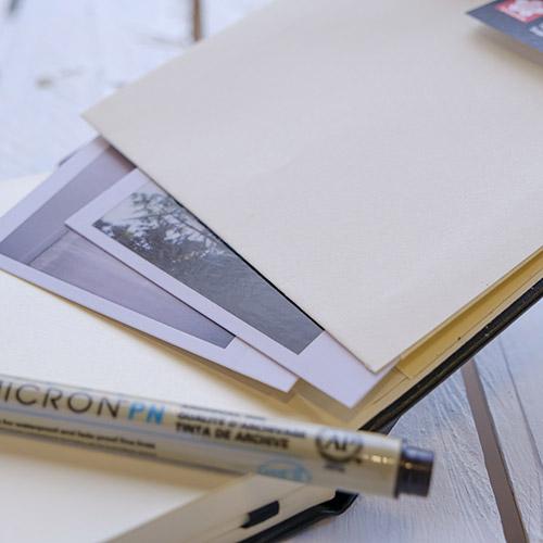 Szkicownik Sakura sketch book note 140g 80ark white paper
