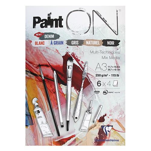 Blok Clairefontaine paint on denim 250g 24 arkusze