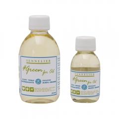 Sennelier green for oil rozpuszczalnik do farb olejnych