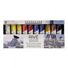 Sennelier rive gauche zestaw farb olejnych 10x21ml