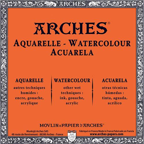 Arches ryza papieru akwarelowego 56x76cm 640g 5ark drobnoziarnis