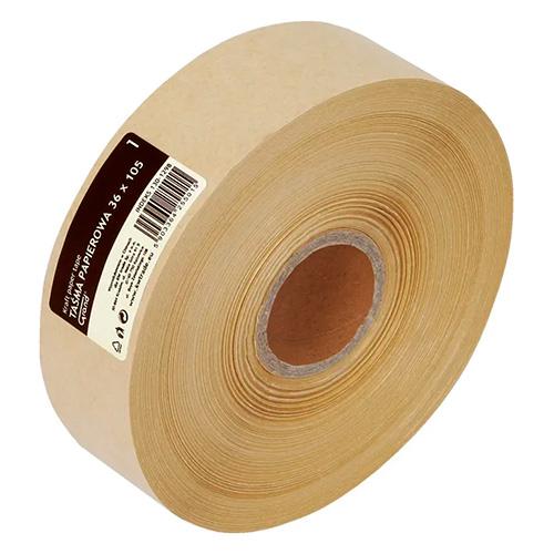 Taśma papierowa klejona na mokro 36x105 grand