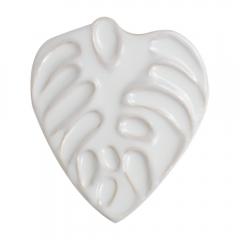 Paleta porcelanowa 16x18,5cm liść