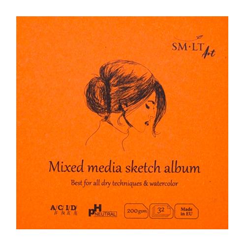 Blok SM-LT art mixed media 200g 32ark