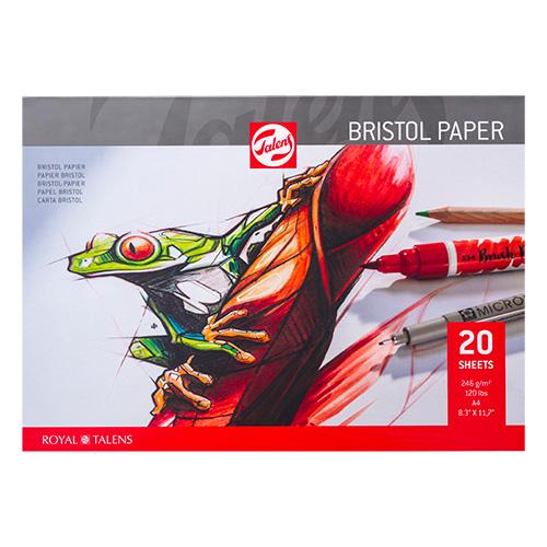 Blok Talens bristol paper bristol w bloku 246g 20ark