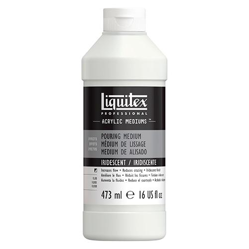Liquitex pouring iridescent medium do farb akrylowych 473ml
