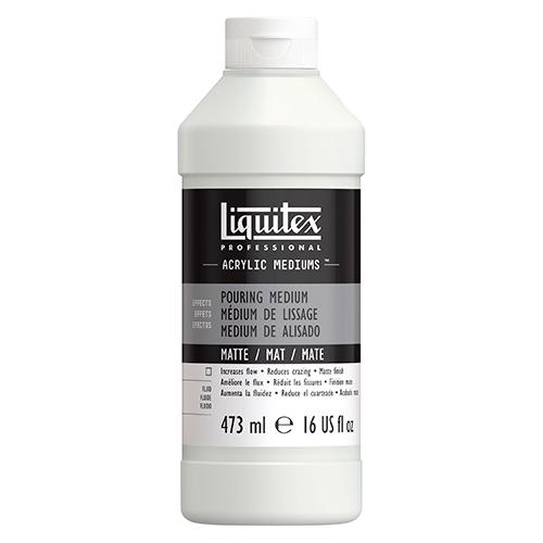 Liquitex pouring matte medium do farb akrylowych 473ml