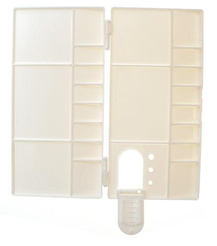 Paleta plastikowa zamykana  20x10x1,8cm YM-H3