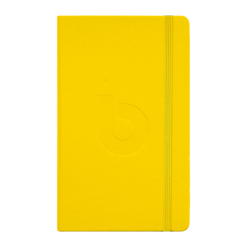 Szkicownik Bruynzeel bullet journal yellow 13x21cm 140g 64ark