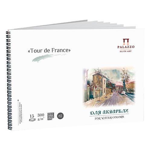 Blok Palazzo tour de france do akwareli 300g 15ark spirala