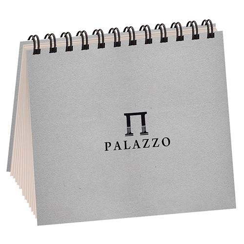 Blok Palazzo papier kość słoniowa spirala 20,7x20,7cm 160g 60ark