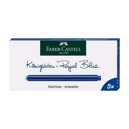 Faber-Castell naboje atramentowe długie 5 sztuk